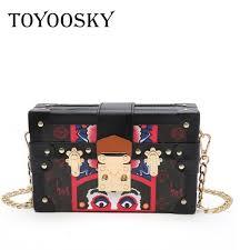 <b>Toyoosky Luxury</b> Box Shape Tote Women <b>Handbag</b> Brand Acrylic ...