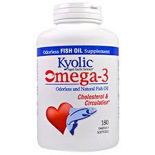Buy Wakunaga - Kyolic, <b>Omega</b> - <b>3</b>, <b>Odorless and Natural</b> Fish Oil ...