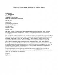 Example Of Application Letter For Nursing Student   Cover Letter