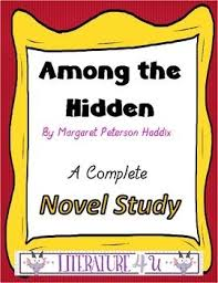 images about novels on pinterest  activities student and  among the hidden a novel study