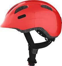 <b>Шлем</b> защитный <b>Abus Smiley 2.0</b>, красный, размер S (45-50)