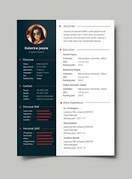 creative resume template in psd format pinteres professional resume cv template psd more