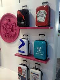 promotional suitcase branded luggage promotional products psi ppweek promotional branded office merchandise