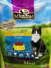 Корм для кошек <b>Meglium Adult</b> Рыба 400гр - Аксессуары во ...