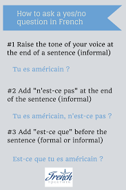 how to easily ask questions in french and sound natural how to ask yes no questions in french
