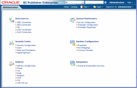 the picture is described in the document text obiee administration