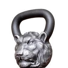 <b>Дизайнерская гиря</b> 16 кг голова Льва за 5550, доставка по СПб в ...