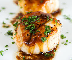 Image result for pan seared new england scallops