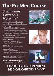 the pre med course saturday 12 2015 at imperial college the pre med course saturday 12 2015 at imperial college london book your place now st clare s careers