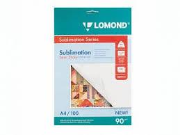 <b>Сублимационная бумага Lomond</b> A4, липкая (809414) купить ...