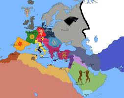 game of thrones in europe by josgui braavos map game thrones