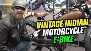 "Coolest E-Bike Ever! | Vintage <b>Indian</b> Motorcycle <b>Style</b> ""<b>Cheetah</b> ..."