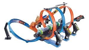 Купить <b>автотрек Hot Wheels Mattel</b> игровой набор Винтовое ...