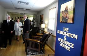 u s department of defense photo essay gates tours restoration and resilience center
