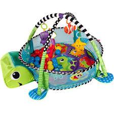 "Купить <b>развивающий коврик</b> Игровой коврик <b>Funkids</b> ""Turtle Gym ..."