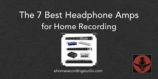 7 лучших усилителей для наушников для домашней звукозаписи