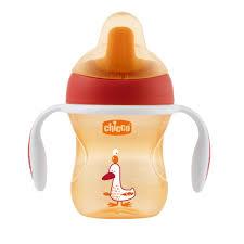 <b>Chicco Training Cup</b> чашка-<b>поильник</b> (полужесткий носик),цвет ...
