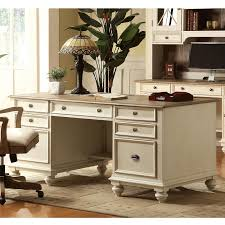 riverside coventry two tone executive desk desks at hayneedle amaazing riverside home office executive desk