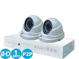 <b>Комплект Видеонаблюдения</b> HD Для Дома и Офиса 4+2 AHD 1 Mpx