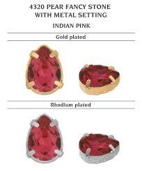 <b>Страза</b> Genuine <b>SWAROVSKI 4320</b> Pear Rhinestones with Sew On ...