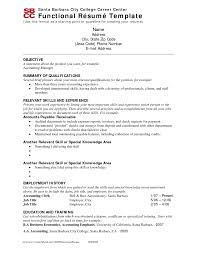 what is a functional resume sample  seangarrette cowhat
