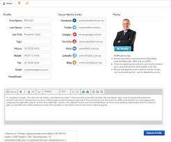 staff profiles idashboard agent profile