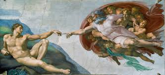 the original sin humanism and the motif of the fall of adam o the creation of adam michelangelo