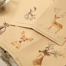 Wallet <b>Envelope</b> 20 Pieces Deer Paper <b>Envelope Designs</b> Cute <b>Mini</b> ...