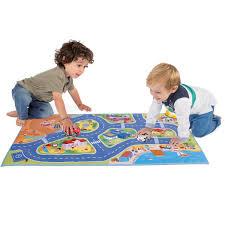 "Игровой коврик с машинками ""Mini <b>Turbo Touch</b> City Playmat ..."