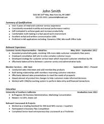 customer service resume experience for customer service resume experience for microsoft word
