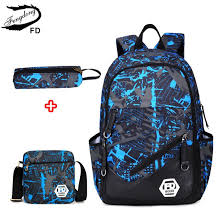 FengDong <b>waterproof oxford fabric</b> boys school bags <b>backpack</b> for ...