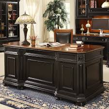 built black and white desk table ideas for home office design with ashley furniture home office desk