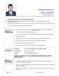 resume format for electrical engineers resume examples  tags curriculum vitae format for electrical engineers resume format for electrical engineering freshers pdf resume format for electrical engineering