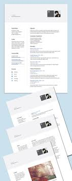 high quality cv resume cover letter psd templates modern cv template ai