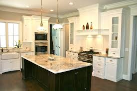 Small Picture white kitchen cabinets with dark floors Dinning and kitchen