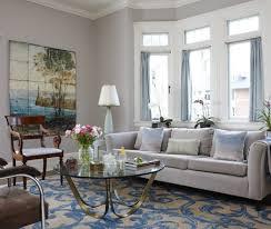 blue blue gray living room