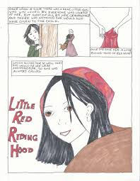 little red riding hood a graphic novel tweetspeak poetry little red riding hood