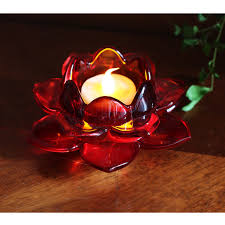 large size red glass