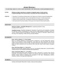 resume template resume objective management position resume   resume template resume objective management position intern experience resume objective management position