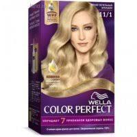 Купить <b>Крем</b>-<b>краска д</b>/<b>волос WELLA</b> Color Perfect 11/1 Яркий ...