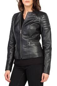 <b>Кожаная куртка JIMMY SANDERS</b> арт 18F_CTW21002_BLACK ...
