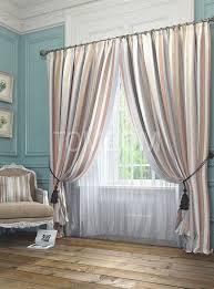 <b>Комплект штор</b> «Эзми (корич.)» | Шторы, Розовый диван и Дом