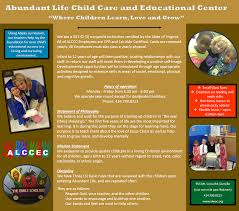 abundant life world outreach church daycare daycare
