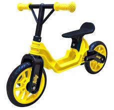 <b>Беговел RT Hobby</b> bike Magestic Yellow Black <b>ОР503</b> - ElfaBrest