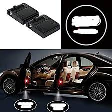 2Pcs Wireless <b>Universal Car</b> Projection LED Projector <b>Door</b> Shadow ...