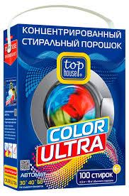 <b>Стиральный порошок</b> Top House Color Ultra <b>концентрированный</b> ...