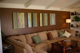 colored living rooms walls
