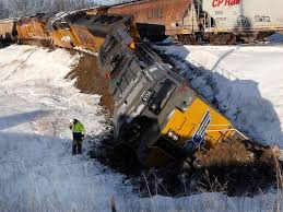Image result for derailed train