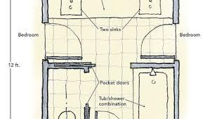 jill bathroom configuration optional:   jack and jill bathroom thumb