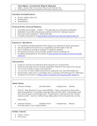 resume or curriculum vitae resume or curriculum vitae 0424